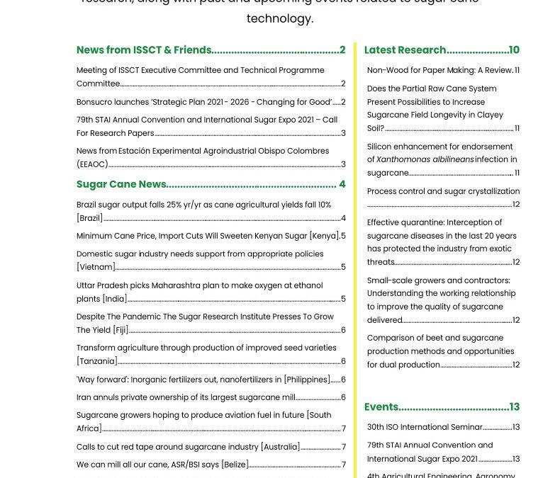 ISSCT June Bulletin